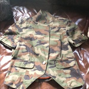 MICHAEL Michael Kors Camouflaged Jacket